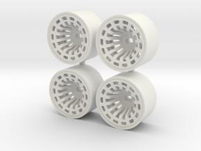 DELTA 4WD REAR + 3 in White Natural Versatile Plastic