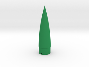 V-2 Nose Cone BT-55 in Green Strong & Flexible Polished