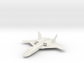 1/144 Skylark Aerospace Fighter in White Natural Versatile Plastic