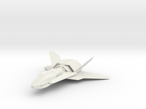 1/144 Talon Aerospace Fighter in White Natural Versatile Plastic