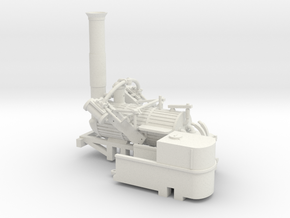 00 Scale Invicta Loco Scratch Aid (V1 Original) in White Natural Versatile Plastic
