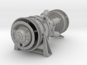 15MW Gas Turbine in Aluminum: 1:48 - O