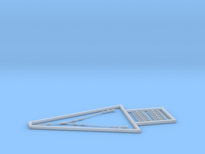 1/44 DKM Rigging Isolator Set in Smooth Fine Detail Plastic