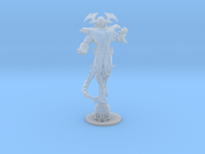 Abyssal Lord DnD 1/60 miniature for games and rpg in Smooth Fine Detail Plastic