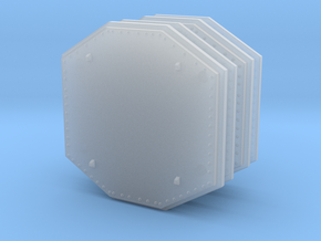 Aegis Radar Panel 01 . 1:200 Scale in Smooth Fine Detail Plastic