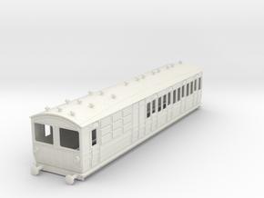 o-32-met-ashbury-bogie-brk-3rd-bth-motor-coach in White Natural Versatile Plastic