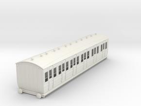 o-32-met-ashbury-bogie-composite-coach in White Natural Versatile Plastic