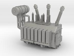 138kV Transformer Assembly in Aluminum: 1:87 - HO
