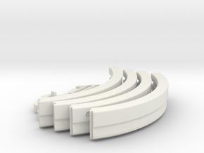 Apollo A7L Neck Ring in White Natural Versatile Plastic