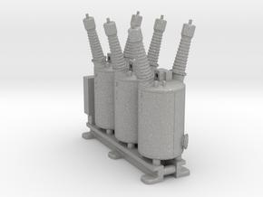 Electrical Substation Circuit Breaker in Aluminum: 1:87 - HO