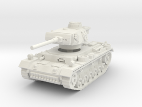 Panzer III M 1/76 in White Natural Versatile Plastic