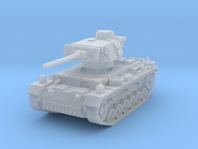 Panzer III M 1/220 in Smooth Fine Detail Plastic