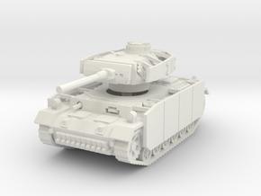 Panzer III M (schurzen) 1/56 in White Natural Versatile Plastic