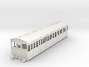 o-43-met-ashbury-bogie-third-class-driver-coach in White Natural Versatile Plastic