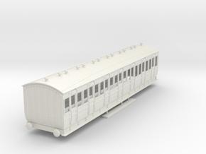 o-43-met-orig-ashbury-bogie-third-class-coach in White Natural Versatile Plastic