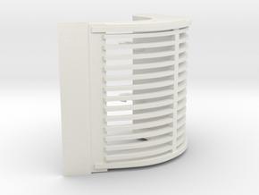 puinbak CW45 in White Natural Versatile Plastic