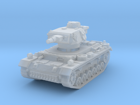 Panzer III N 1/160 in Smooth Fine Detail Plastic