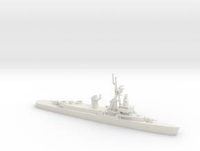 1/600 Scale O'Bannon DDE 450 in White Natural Versatile Plastic