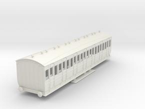 o-100-met-orig-ashbury-bogie-third-class-coach in White Natural Versatile Plastic