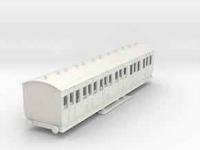 o-100-met-orig-ashbury-bogie-composite-coach in White Natural Versatile Plastic
