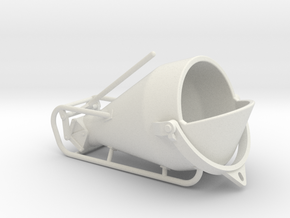 1-50 Concretebucket 750L Transport in White Natural Versatile Plastic