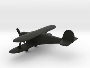 Beechcraft G-17 Staggerwing in Black Natural Versatile Plastic: 1:160 - N