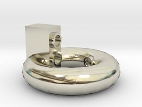Surround Sound(環繞音響) in 14k White Gold