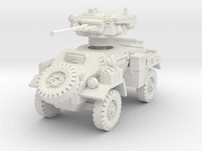 Humber Mk II 1/76 in White Natural Versatile Plastic