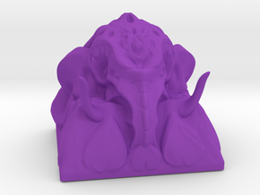 Ganesha Keycap in Purple Processed Versatile Plastic