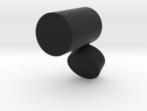 box3 in Black Natural Versatile Plastic: Medium