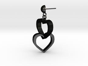 Heart and soul in Matte Black Steel