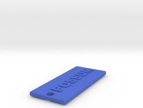 POSSUMRIFT in Blue Processed Versatile Plastic