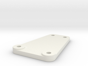 RC10 STEALTH TRANSMISSION BRACE REPRODUCTION OF RP in White Natural Versatile Plastic