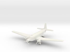 1/285 (6mm) Junkers Ju-252 (ground mode) in White Natural Versatile Plastic
