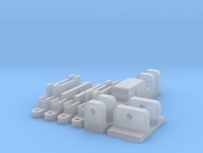 Doppelachs-Lenkung für 4a-LKW in Smooth Fine Detail Plastic