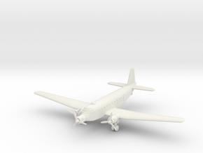 1/285 (6mm) Junkers Ju-252 (ground mode, 2nd versi in White Natural Versatile Plastic