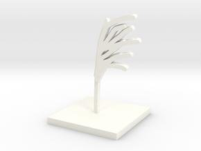 Miscanthus in White Processed Versatile Plastic