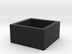 headphone storage box in Black Natural Versatile Plastic