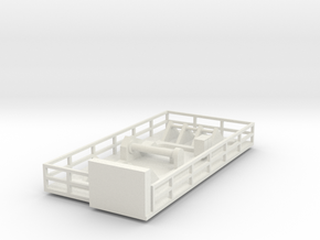 Kalmar Crane Trolley N scale in White Natural Versatile Plastic