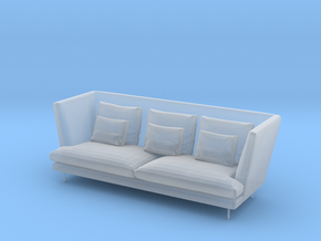 1:24 Sofa in Smooth Fine Detail Plastic