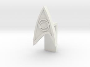 Laptop lense cover - Star Trek in White Natural Versatile Plastic