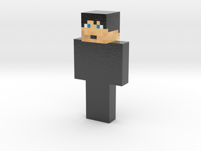 Purple_Vador | Minecraft toy in Glossy Full Color Sandstone