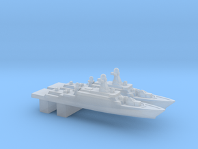 Buyan-M-class corvette, 1/3000 in Smooth Fine Detail Plastic