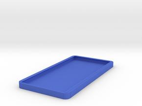 phone case in Blue Processed Versatile Plastic