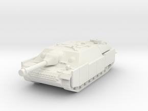 Jagdpanzer IV (schurzen) 1/87 in White Natural Versatile Plastic