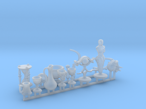 Fantasy Props for 1/24 scale. Magic items + more in Smooth Fine Detail Plastic