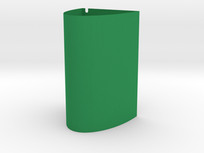 GroWall System Reservoir Base (Small) in Green Processed Versatile Plastic