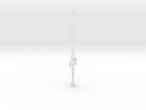 Ravenblade in White Natural Versatile Plastic