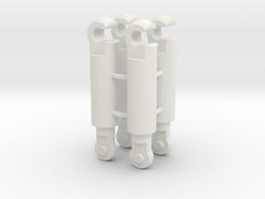 Grappling hook link set for Mega Crane in White Natural Versatile Plastic