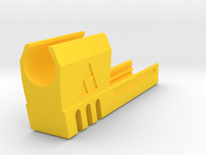 TriForce Match Weight Comp for 1911 Airsoft GBB in Yellow Processed Versatile Plastic